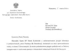 16-03-15_podziekowanie_Sejm_-300x211 Podziękowanie Marszałka Sejmu R.P.