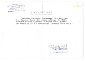 1989-05-upowaznienie-ryszard-zajac-niespodzianka-300x214 Czerwiec 1989