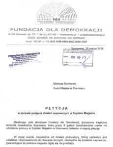 19-03-23-RM-Sosnowiec-petycja-szpital-230x300 Petycja w sprawie Szpitala Miejskiego